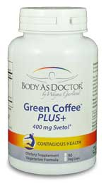 Green Coffee PLUS weight loss supplement