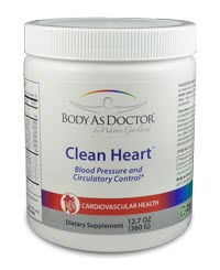 Clean Heart L-Arginine formula for lowering blood pressure